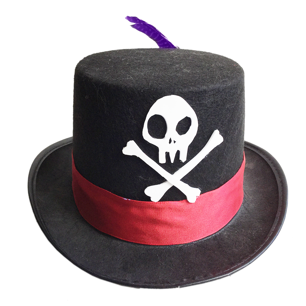 Make A Shadow Man Hat For Disneybounding Crafty Mcfangirl